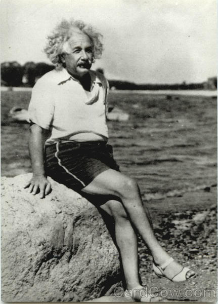albert-einstein-at-beach-1945-celeb